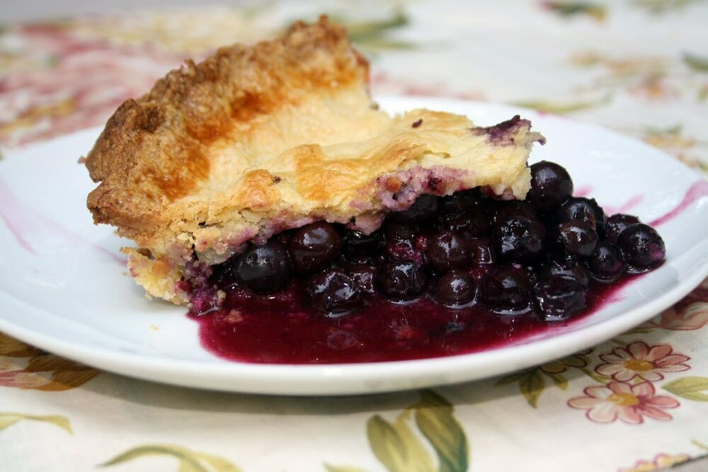 Blueberry Pie Homemade handcrafted Pie Holiday Gift ...