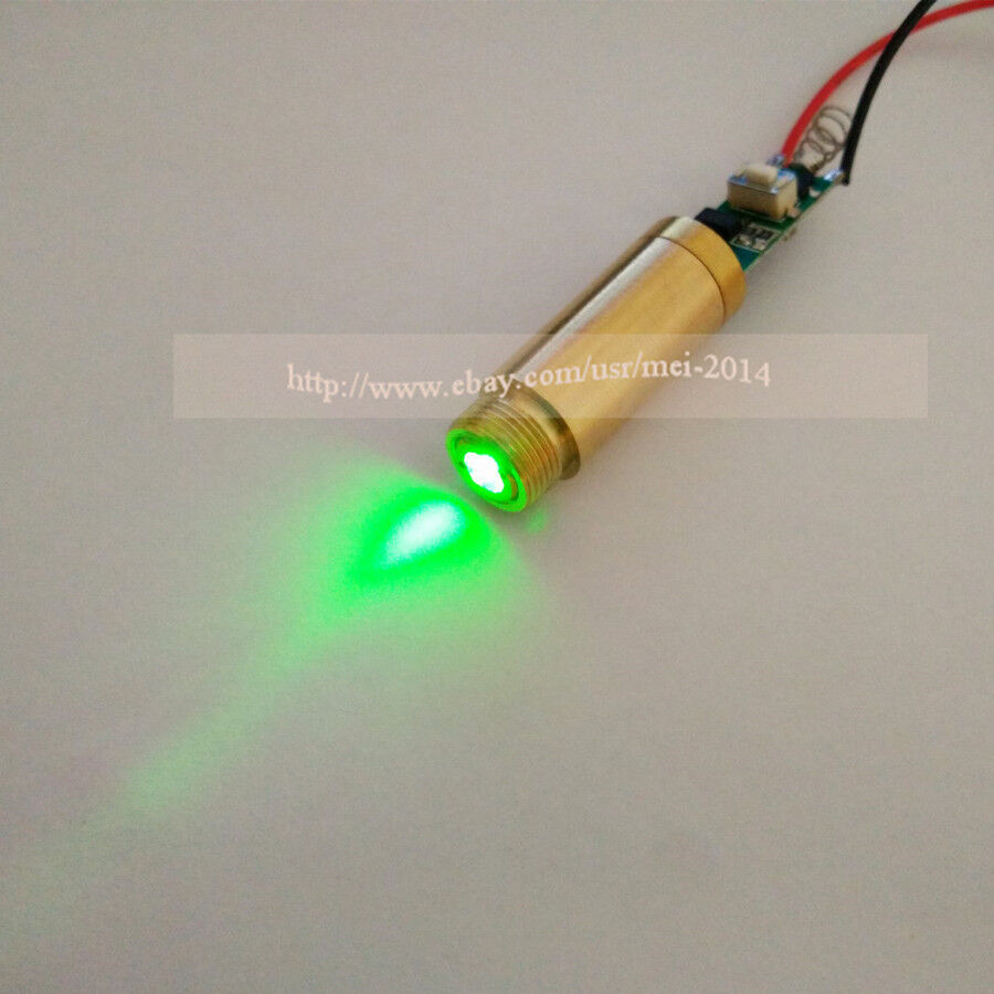 532nm 5mw Green Laser Dot Module 3vdc Ebay