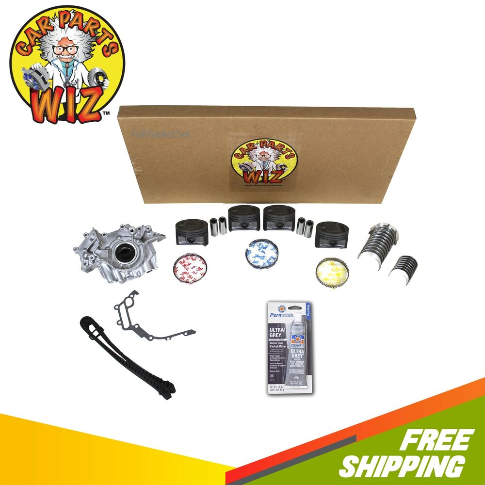 Ford 2 3 Engine Rebuild: Engine Rebuild Kit Fits 01-04 Ford Focus 2.0L DOHC 16v VIN