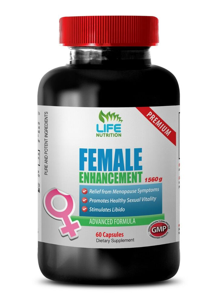 female libido booster female enhancement horny goat weed maca 1 bottle ebay. Black Bedroom Furniture Sets. Home Design Ideas