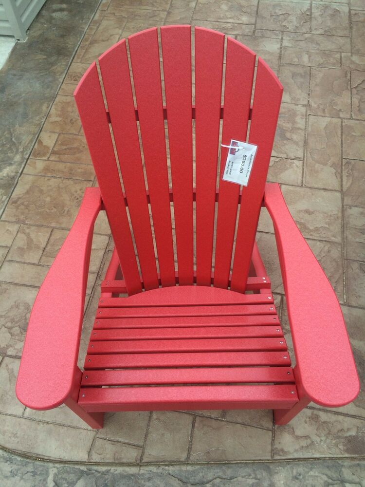 Berlin Gardens Poly Adirondack Chair Outdoor Furniture eBay