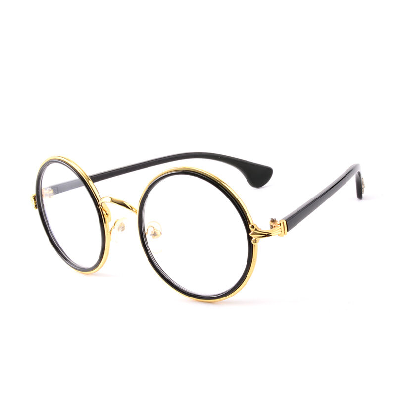 Vintage Round Eyeglass Frame Glasses Retro Spectacles ...