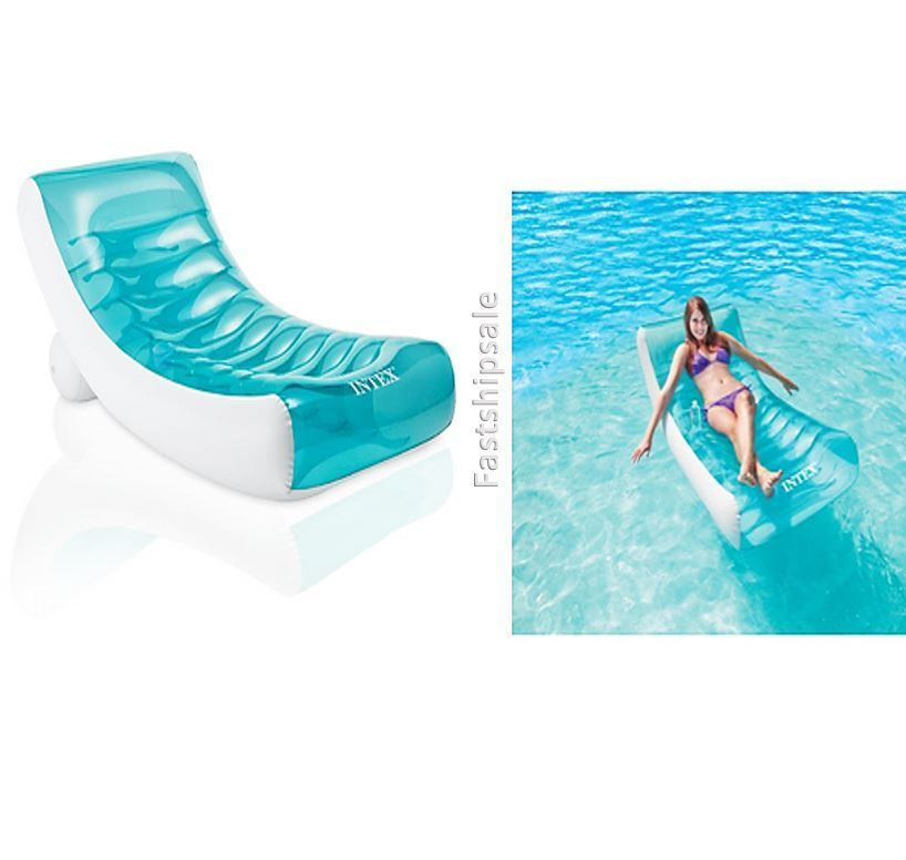 Relaxation Station Pool Lounge: Relaxation Station Lounge Floating Island Inflatable Oasis