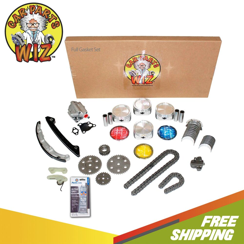 Ford 2 3 Engine Rebuild: Master Engine Rebuild Kit Fits 01-03 Ford Mazda 2.3L DOHC