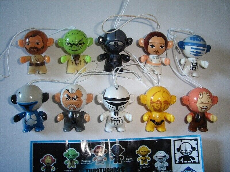 star wars twistheads 2012 kinder surprise figures set figurines collectibles ebay. Black Bedroom Furniture Sets. Home Design Ideas