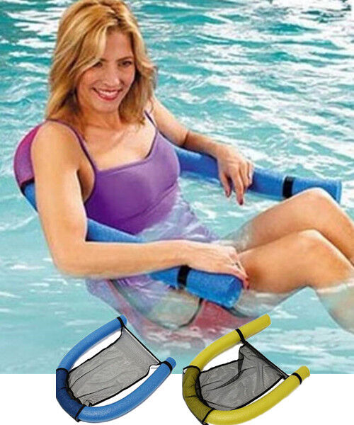 Swimming Pool Noodle Sling Chair Floating Seats For Adult