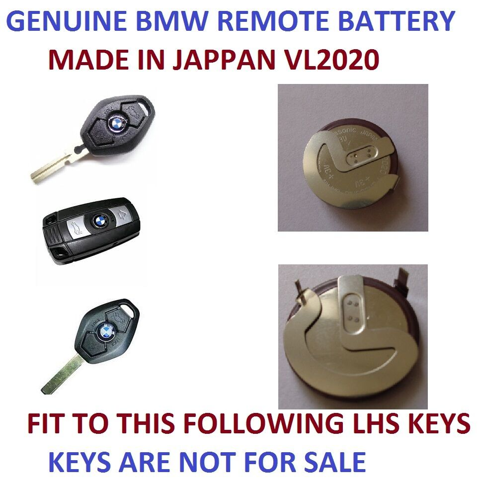 Rechargeable Battery Bmw 3 5 Series E46 E39 Vl2020 Remote Key Panasonic Japan Ebay