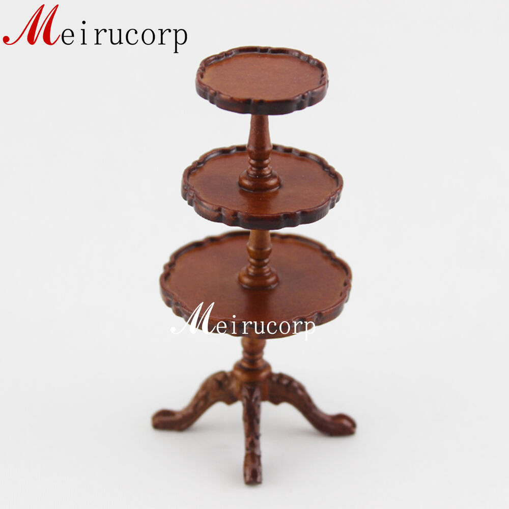 Fine 1 12 Scale Miniature Furniture Well Made Wooden Cake