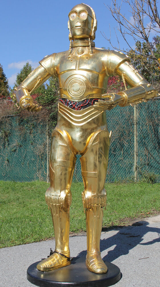 Robot Android C3PO life size Space - 181.0KB