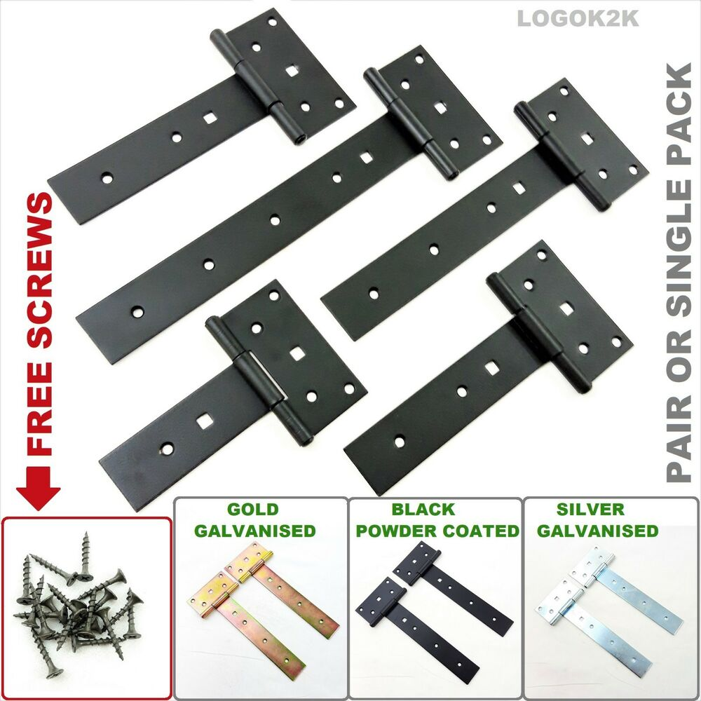 Tee Hinges Straight Galvanized Heavy Duty T Strap Hinges
