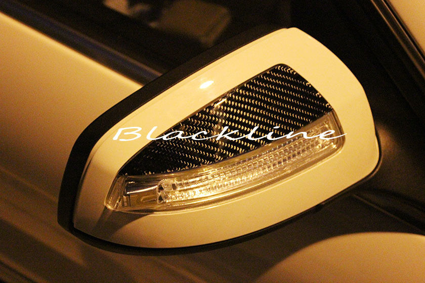 For 08 09 mercedes benz w204 c class carbon fiber mirror for Mercedes benz c300 side mirror glass