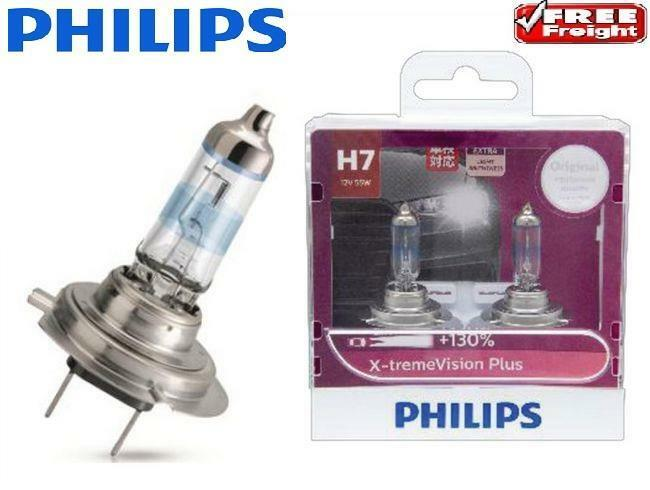 philips h7 x treme vision plus bulb headlight globes 130. Black Bedroom Furniture Sets. Home Design Ideas