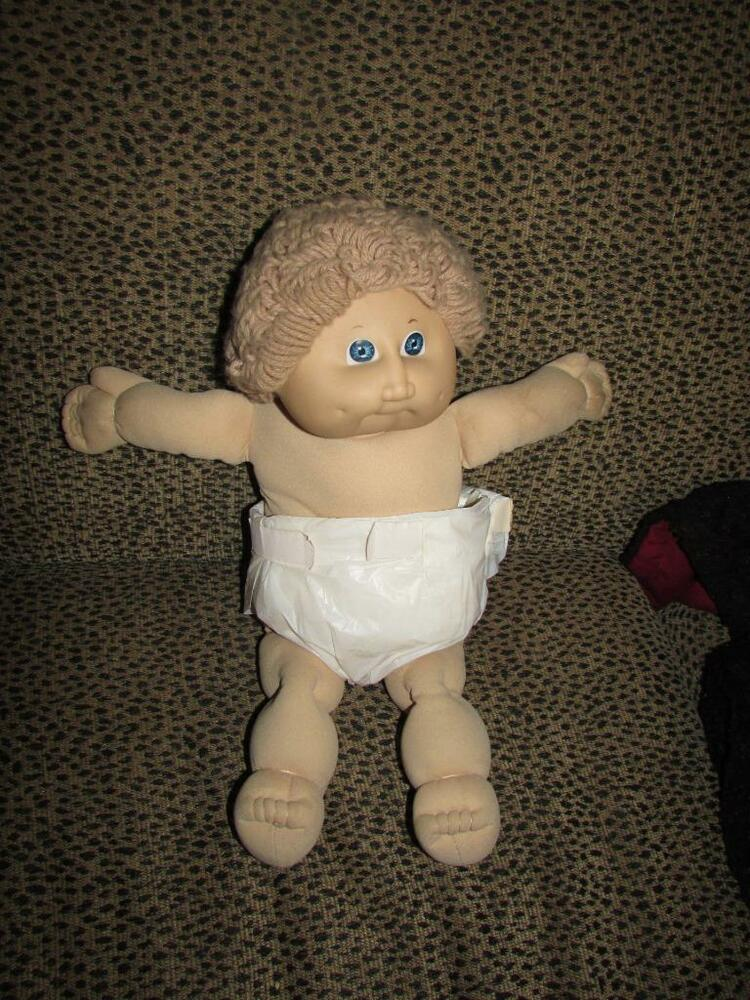 Vintage Cabbage Patch Doll 1985 Curly Hair Baby Ebay