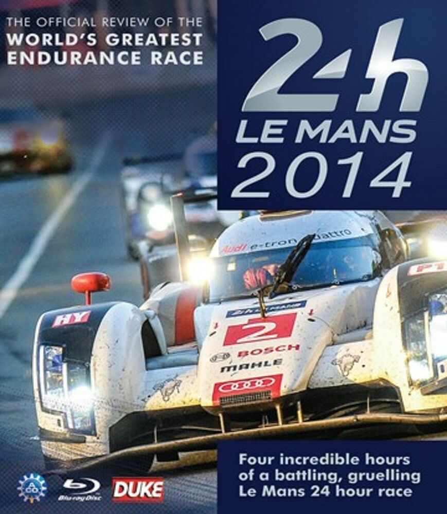 le mans 2014 blu ray 4 hours stereo audi 24 hour endurance race duke 3767 ebay. Black Bedroom Furniture Sets. Home Design Ideas