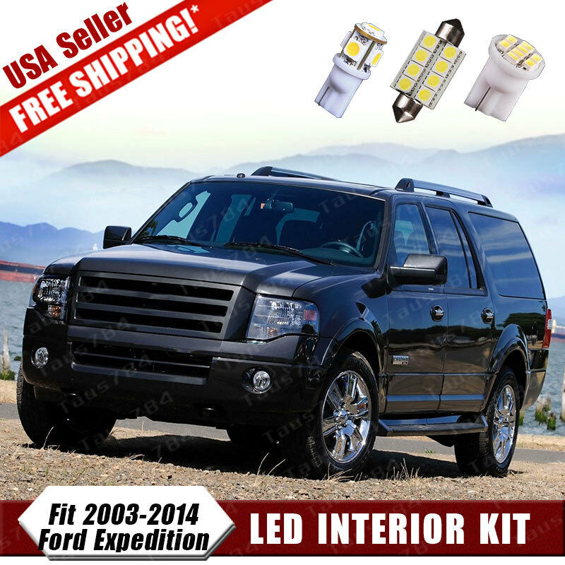 17x Led Xenon White Conversion License Package Kit For