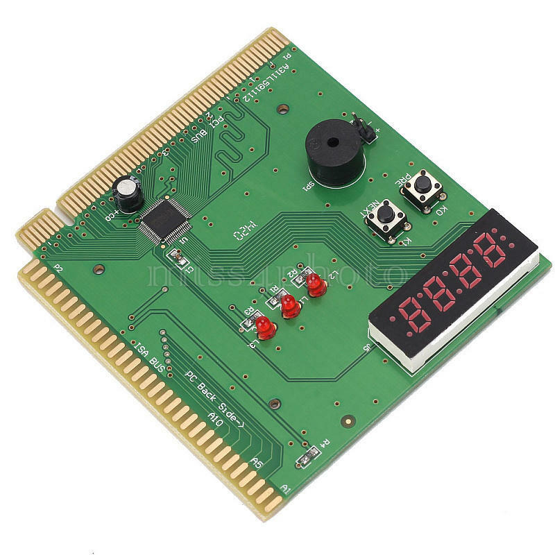 Computer Post: 4-Digit Card Motherboard PCI ISA Diagnostic Post Tester