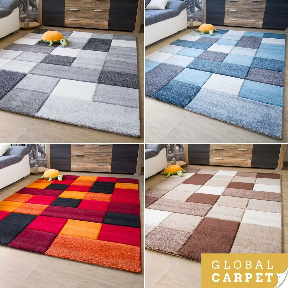 New modern rug botiga square design colourful soft quality for Cheap good quality rugs