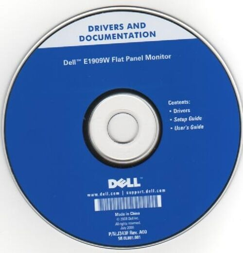 Dell 2005fpw monitor