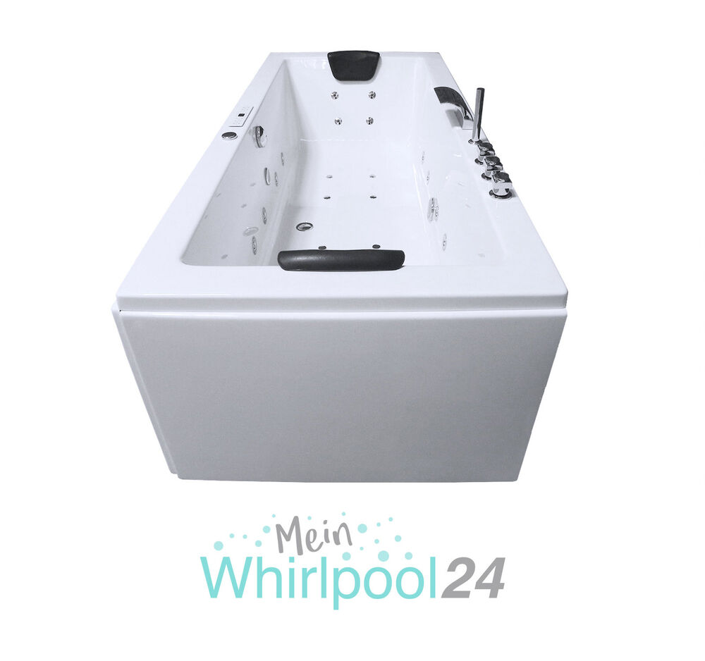 whirlpool badewanne rechteck r gen premium 2 personen jacuzzi indoor neu ebay. Black Bedroom Furniture Sets. Home Design Ideas