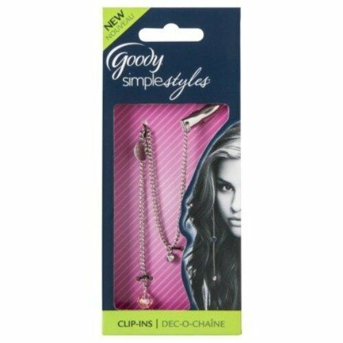 Goody Simply Styles Hair Clip In Jewel Extension Ebay