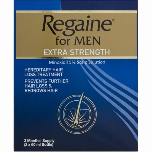 Regaine extra strength solution
