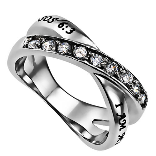 i am my beloved ring promise ring for christian