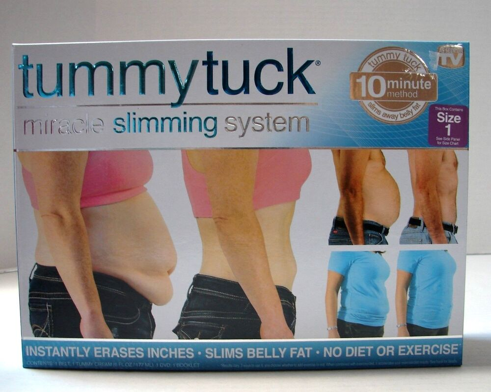 Tummy Tuck Miracle Slimming System & Belt ~ As Seen On TV ...