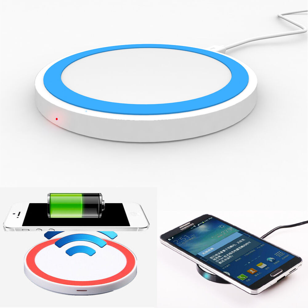 Qi Wireless Battery Charger Charging Pad For Samsung