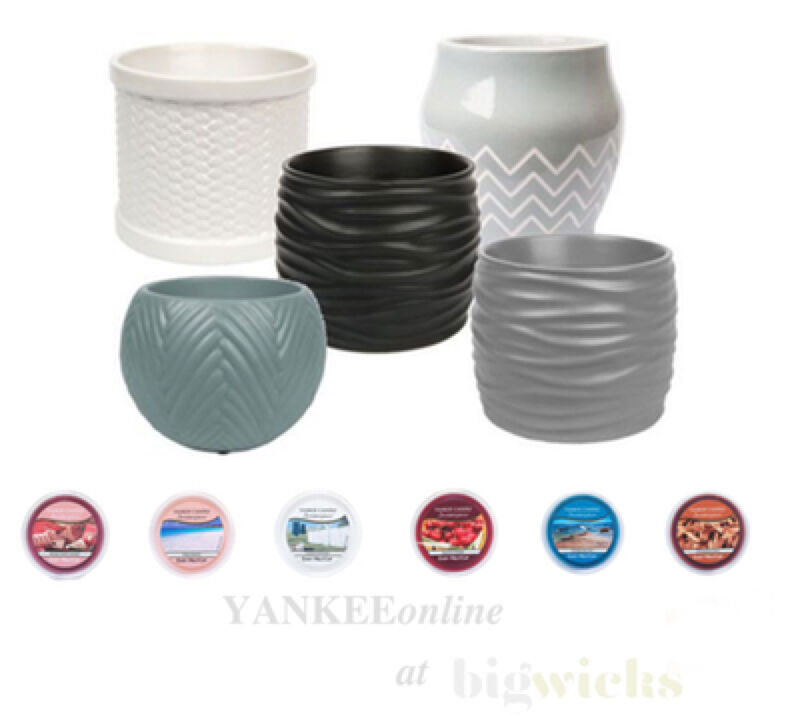 Yankee candle scenterpiece easy meltcups warmer and melt