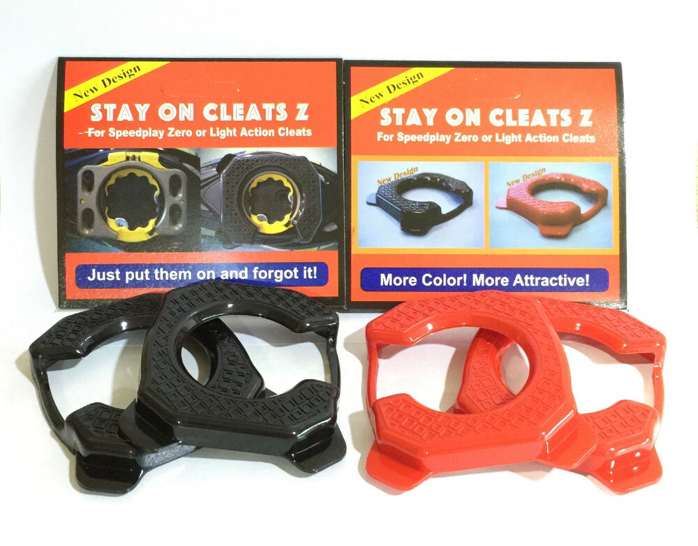 287ff5dc6 Details about Stay On Cleats Cover for Speedplay Zero or Light Action  Cleats Protection Cover