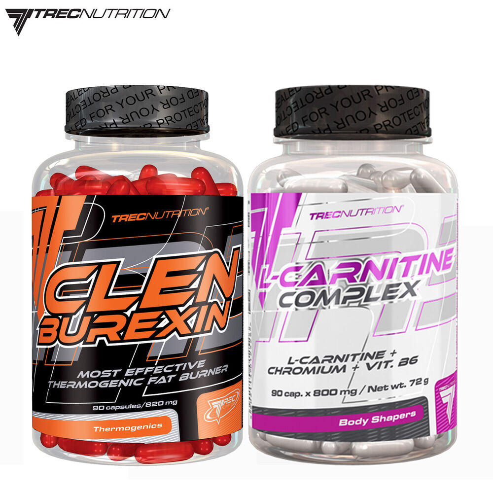 Clenburexin 90 Caps + L-Carnitine Complex 90 Tablets ...