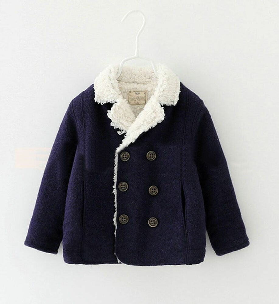 Infant Boys Baby Kid's Berber Fleece Winter Warn Snow ...