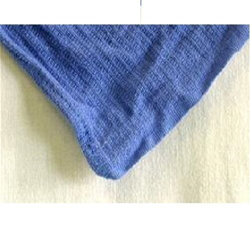 Huck Surgical Towels: 12 NEW BLUE HUCK TOWELS GLASS CLEANING JANITORIAL LINTLESS