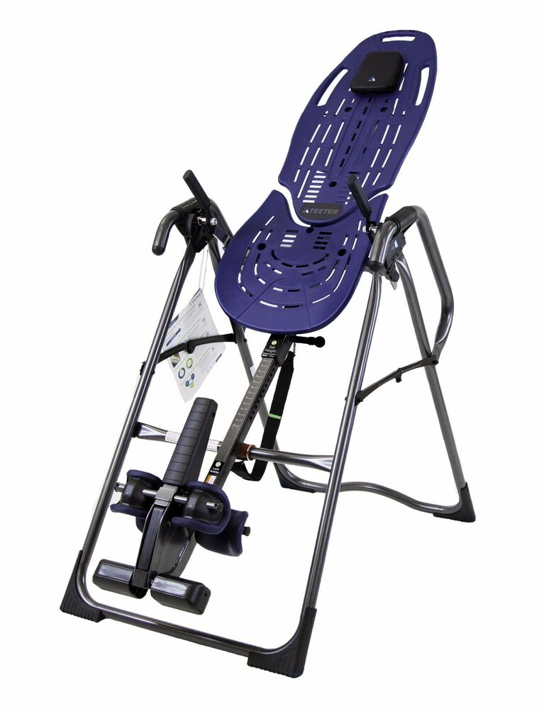 Brand new teeter hang ups ep 960 inversion table 5 yr for 1201 back therapy inversion table