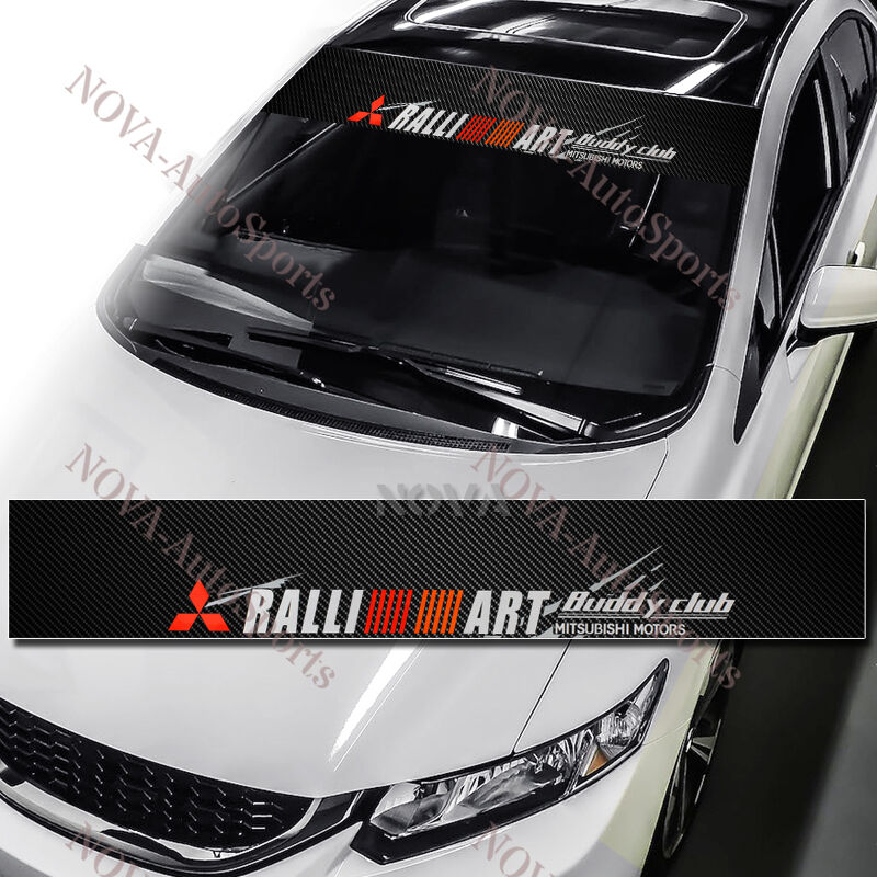Ralliart Windshield Carbon Fiber Banner Decal Sticker For HD Wallpapers Download free images and photos [musssic.tk]