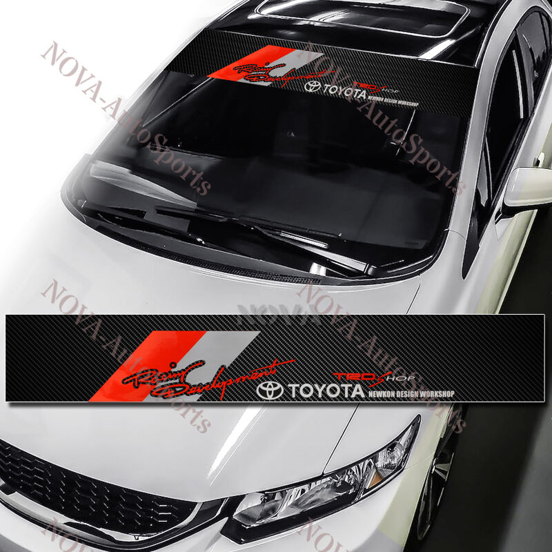 TRD Windshield Decal EBay - Front window stickers for car