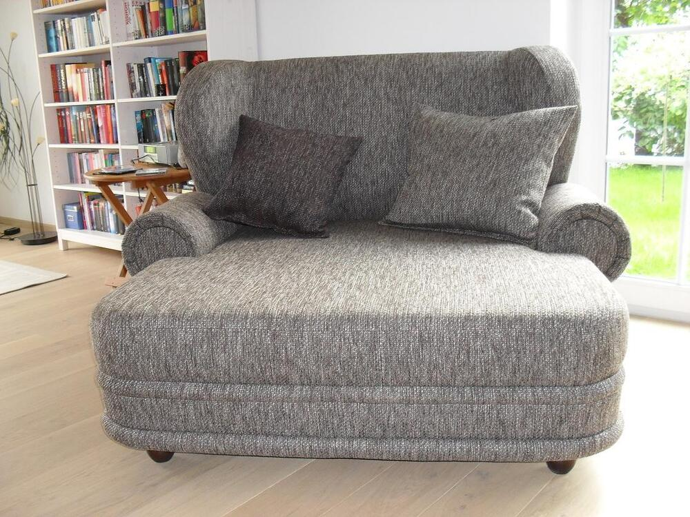 Big ohrensessel kolonialsessel sessel mit federkern sofa for Ohrensessel york big