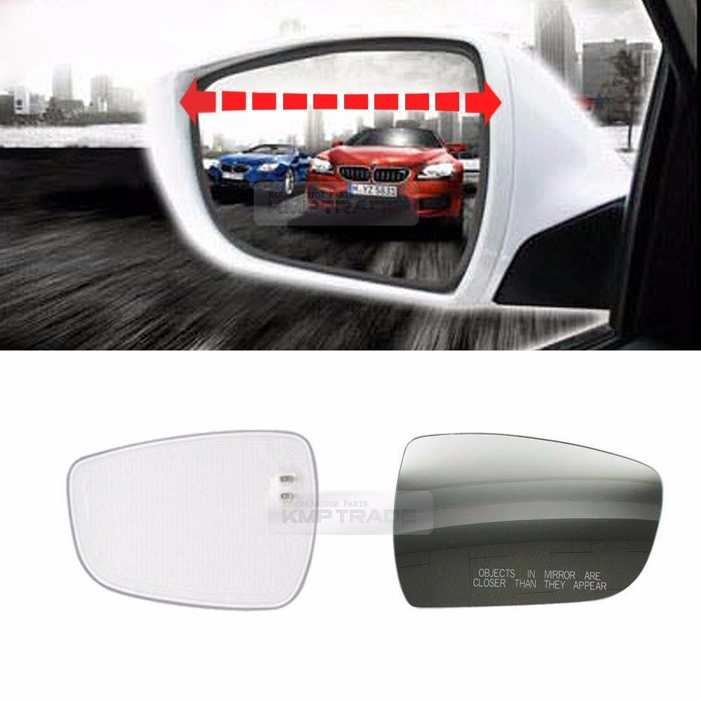 Rearview Blind Spot Wide Curved Side Glass Mirror For