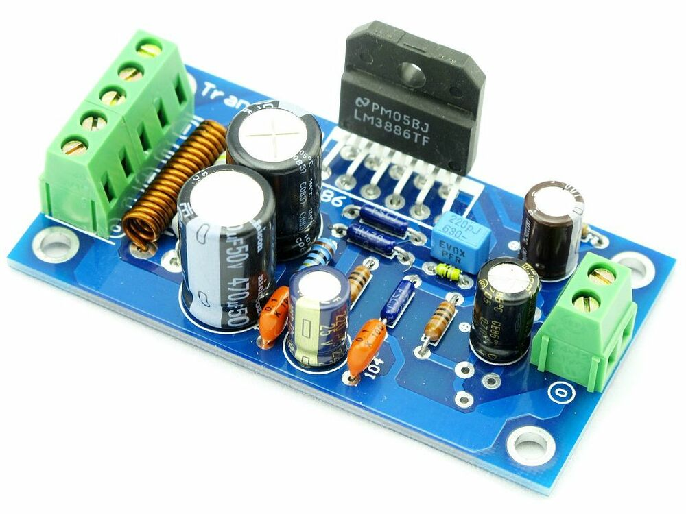 2 x super ns lm3886 lm3886tf audio power amplifier kit ebay. Black Bedroom Furniture Sets. Home Design Ideas