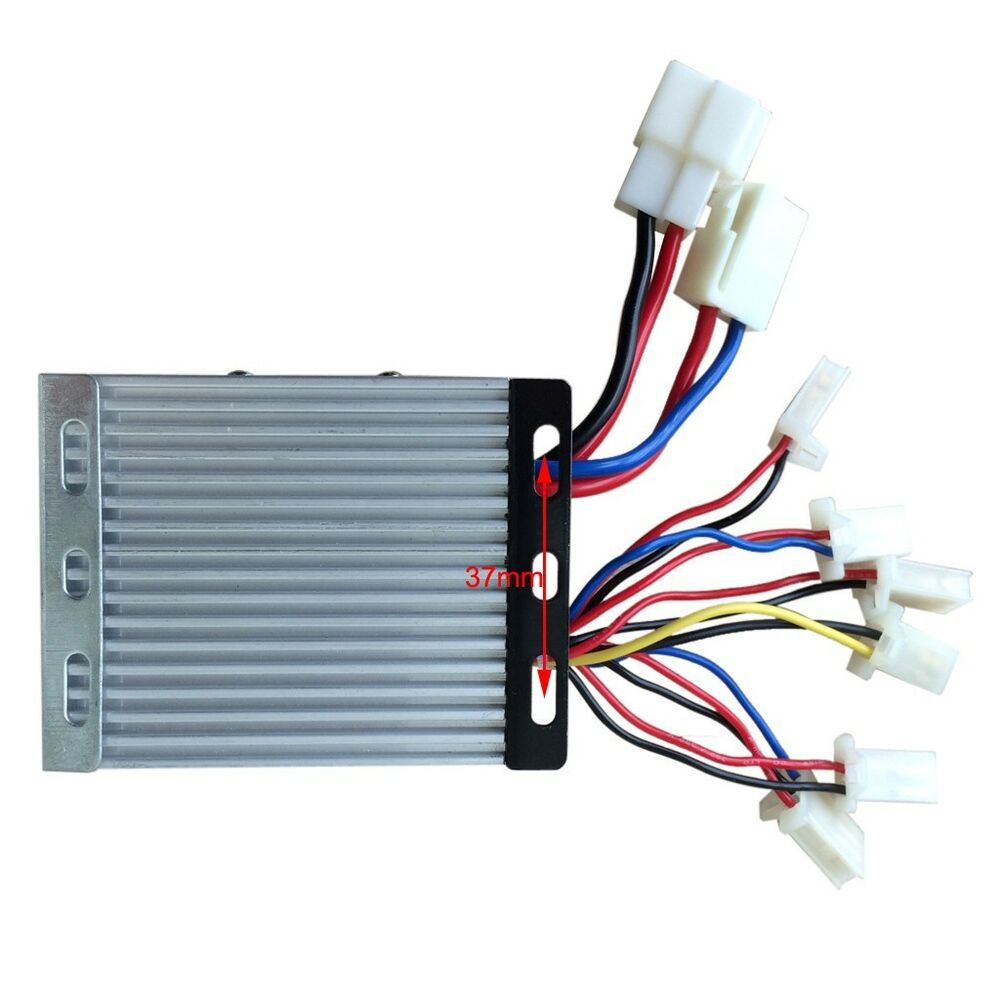 36v 350w motor brush speed controller box for electric for Ev ac motor controller