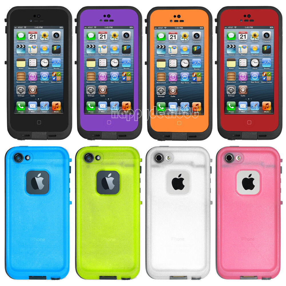 waterproof cases for iphone 5s new waterproof shockproof dirt proof durable cover 1211