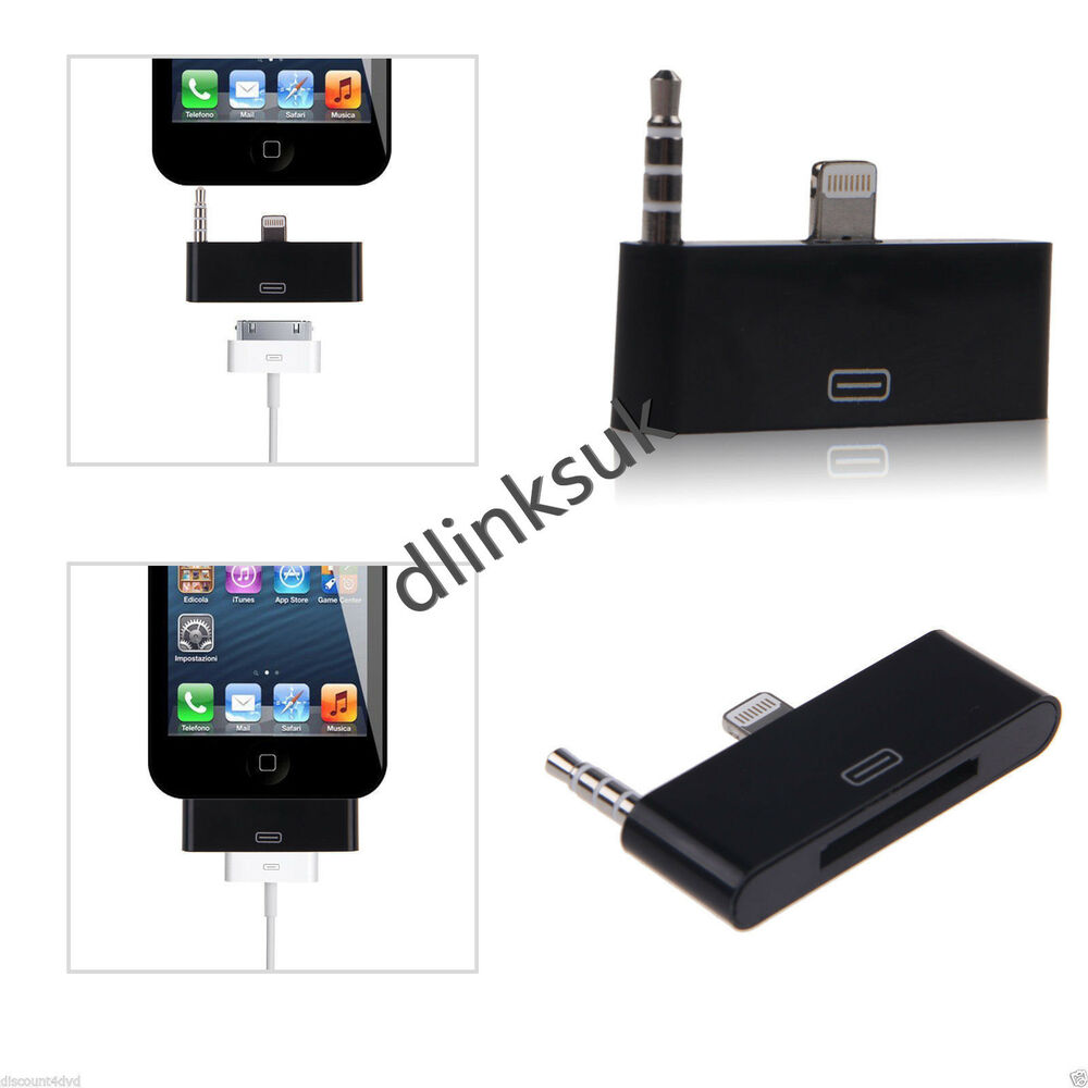 iphone 4 to 5 adapter for iphone 4 to 5 5c 5s ipod 30pin audio dock adapter 2561