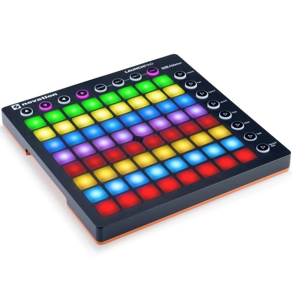 novation launchpad mkii mk2 midi usb dj rgb pad controller ableton live new ebay. Black Bedroom Furniture Sets. Home Design Ideas