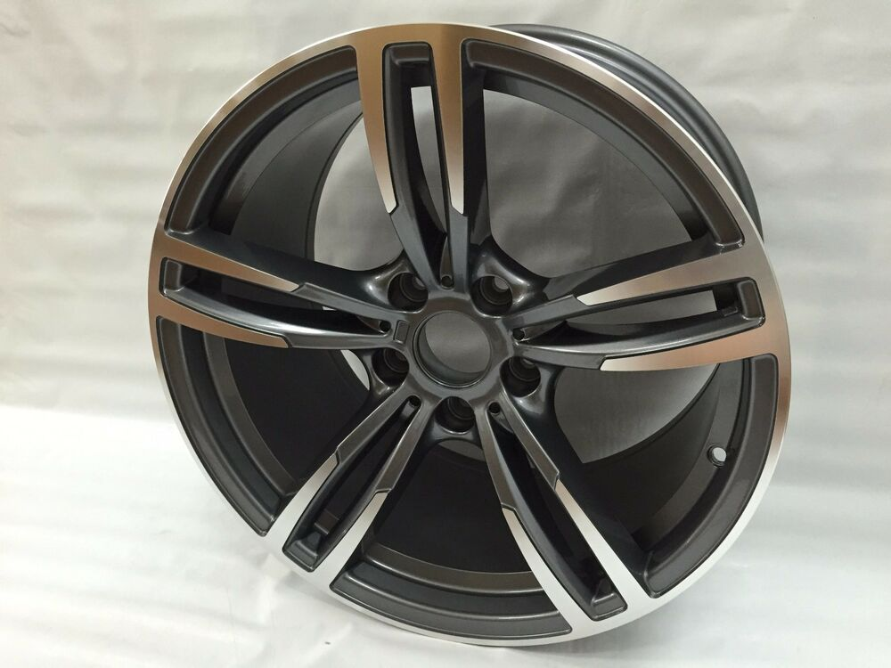 18 Quot Bmw 2015 M3 Style Wheels Rims Fit 1 Series 3 Series 4 Series 5 Series 5480 Ebay
