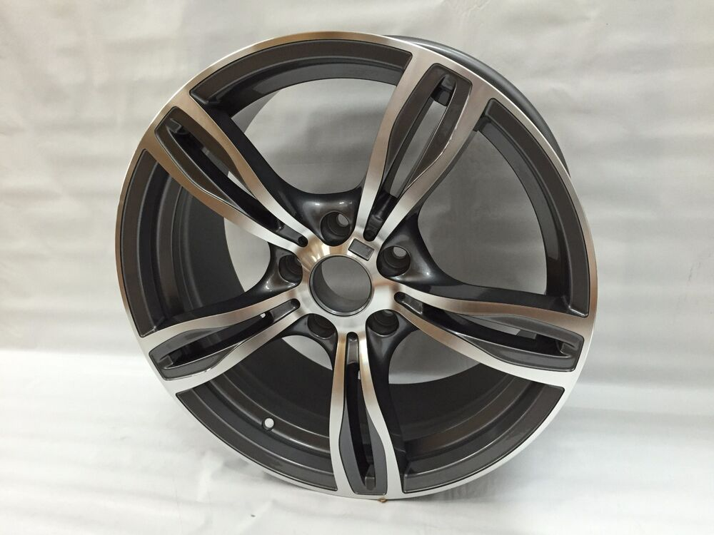 "2011 Bmw 328i Accessories >> 18"" GUNMETAL M5 STYLE RIMS WHEELS 1M FITS BMW 3 SERIES E90 ..."