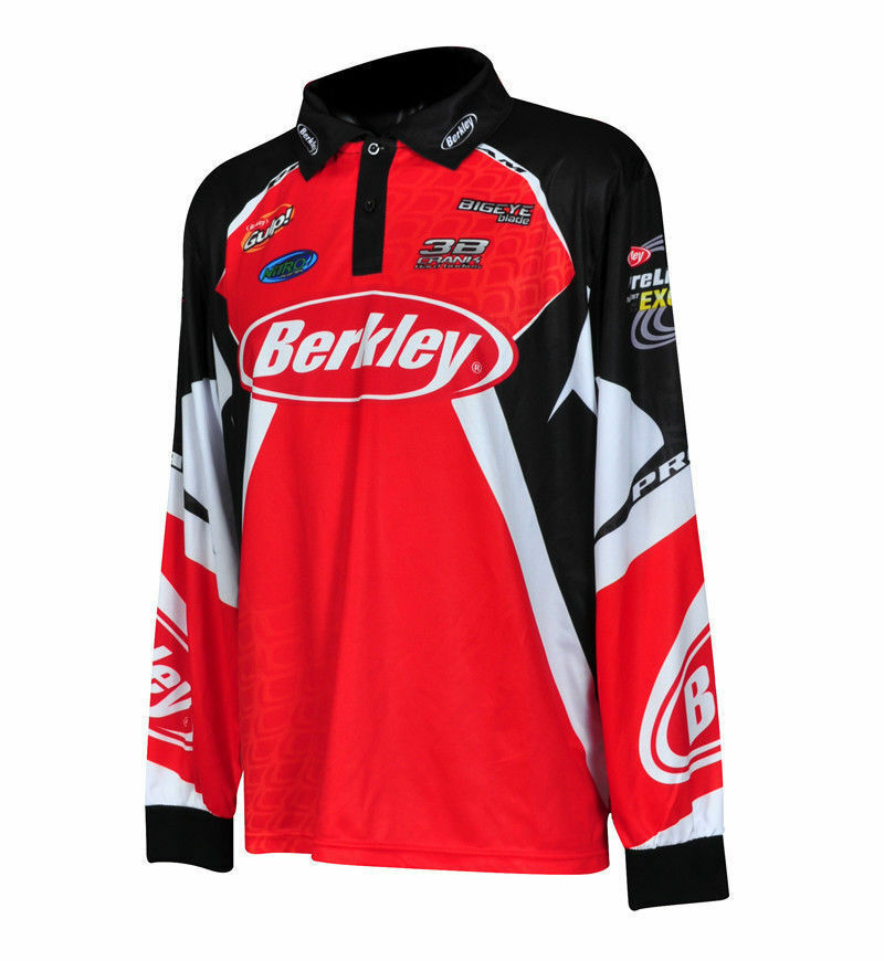 Berkley Tournament Fishing Jersey Shirt Brand New With