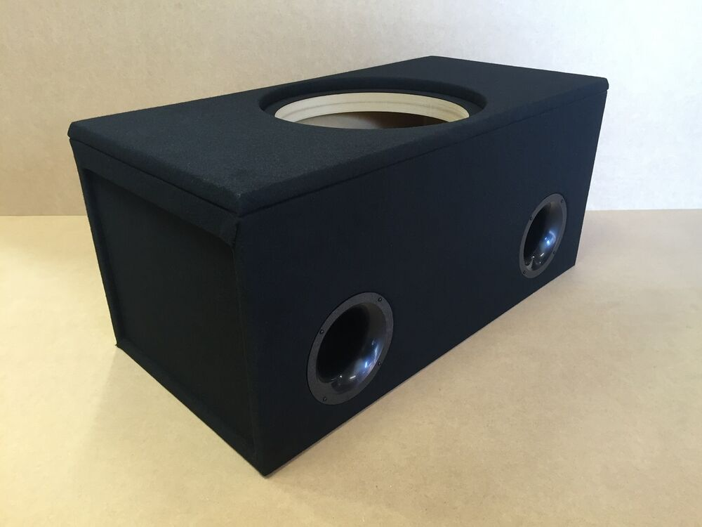 Ported custom sub enclosure box for 1 15 sundown zv4 zv 4 for L ported speaker box