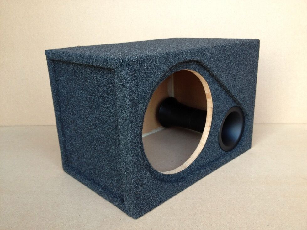 Ported recessed sub box enclosure for 1 12 alpine type for L ported box dimensions
