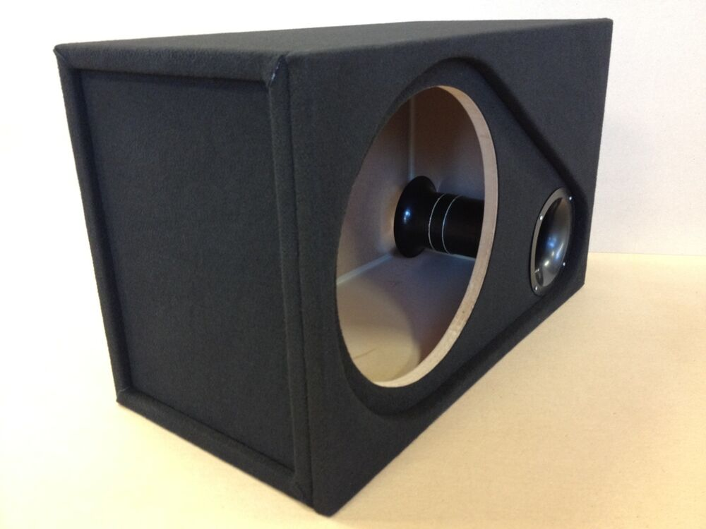 ported recessed sub box enclosure for 1 15 rockford. Black Bedroom Furniture Sets. Home Design Ideas