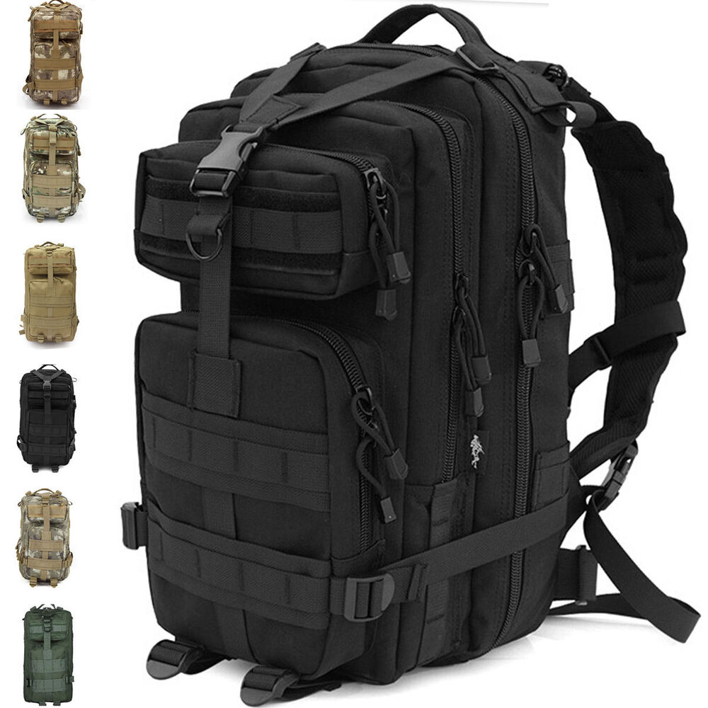 3p attack tactical military assault backpack combat for Outdoor rucksack